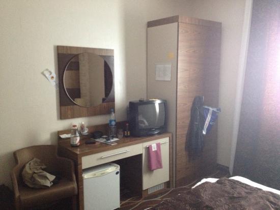"""Bautino, Kazachstan: Стандартный номер в гостинице """"достык"""""""