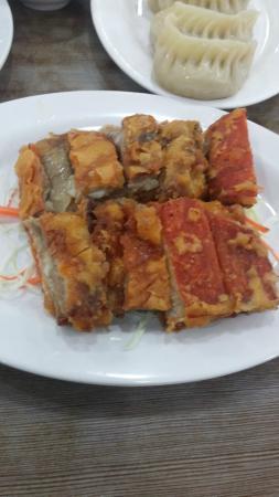 Islam Food: fried lamb