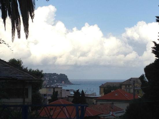 Hotel Belvedere: vista dal balconcino della camera