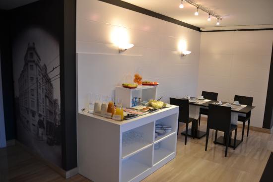 Hotel America Vigo: Salon desayunos