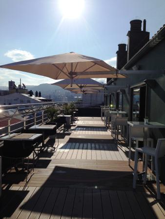 Hotel America Vigo: Terraza la SEP7IMA