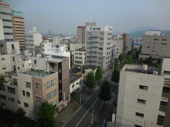 Hotel Arflex: 周南市街の眺め