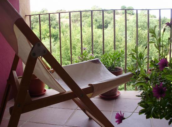 Casa Miret: Terraza