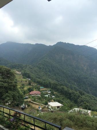 Ashoka's Naini Chalet Resort: view from the balcony
