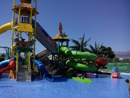 Albir Garden Resort: Parque acuático