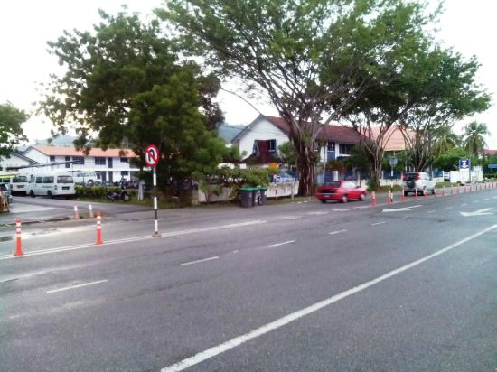 Hotel Asia Langkawi: View from the front