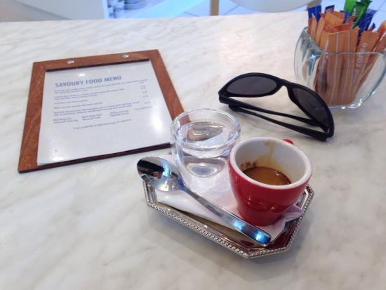 Mahalia Coffee: Well presented and great coffee