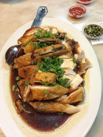 Ipoh Hainan Chicken Rice: Hainan Chicken