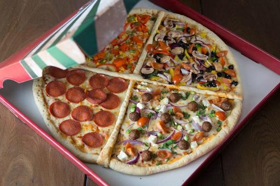 Quarter Mile Pizza 20 Picture Of 23rd Street Pizza