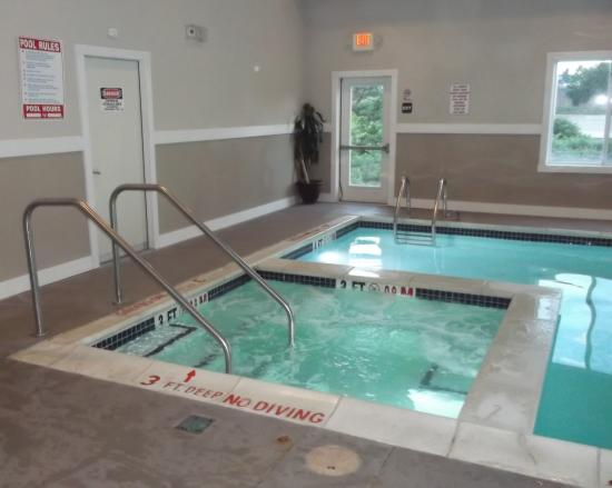 Sleep Inn & Suites Scranton Dunmore : Bain tourbillon