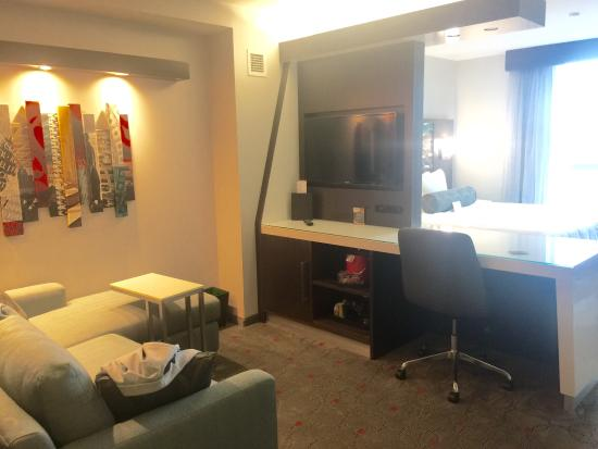 With Living Room And 2nd Tv Picture Of Cambria Hotel Suites Washington Dc Convention