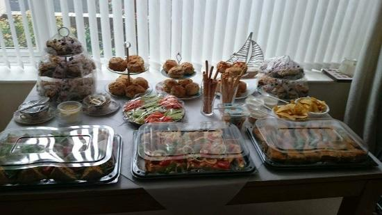 Linthorpe Tea Room: Just some of the food, my table wasn't big enough!