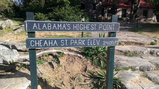 Cheaha State Park Resort : High point