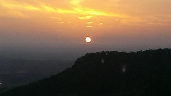 Cheaha State Park Resort: Sunset from restaurant