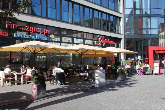 Cafe Giesselmann at Sparkasse