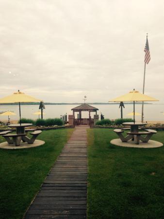 Beach Haus Resort: View from breakfast area