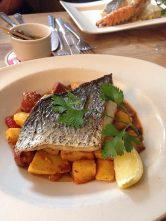 Great lunch at the Swan - so reliable, so good