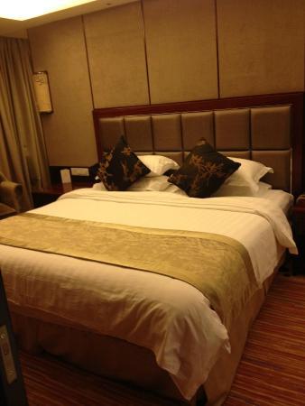 New Century Hotel Xiaoshan : Sleepy time!
