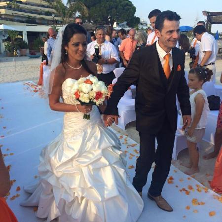 Bay Star Beach & Lounge : Wedding on the beach