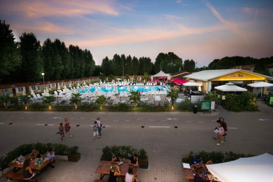 Marghera, Italy: Pool at Camping Village Jolly