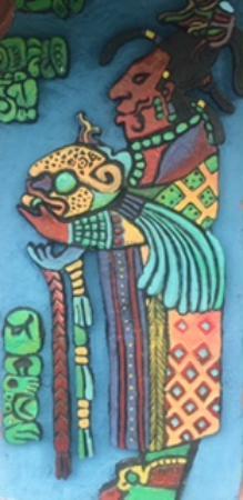 Banana Bank Lodge & Jungle Horseback Adventure : Lots of artwork all around the grounds
