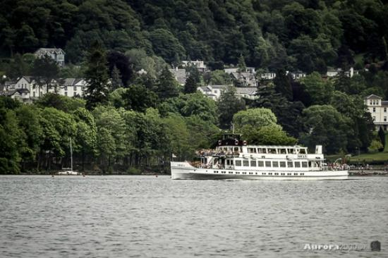 Bowness-on-Windermere, UK: Cruise Departing Bowness