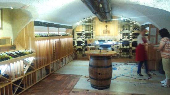 Kyjov, República Checa: In the winegallery