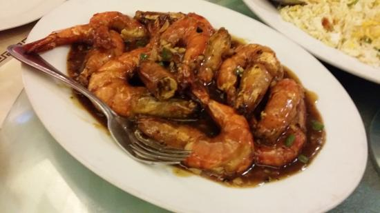 Queen Margarette Hotel: Prawns
