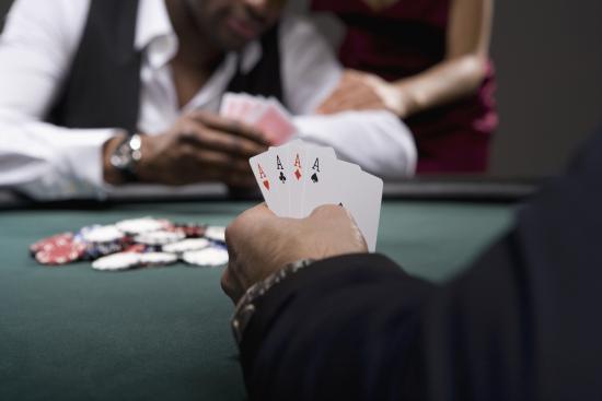 Coventry, UK: Poker Hand