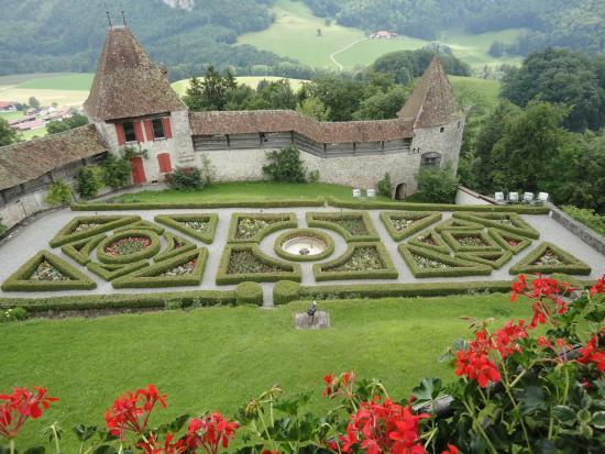 Gruyere Chocolate Tour Castle