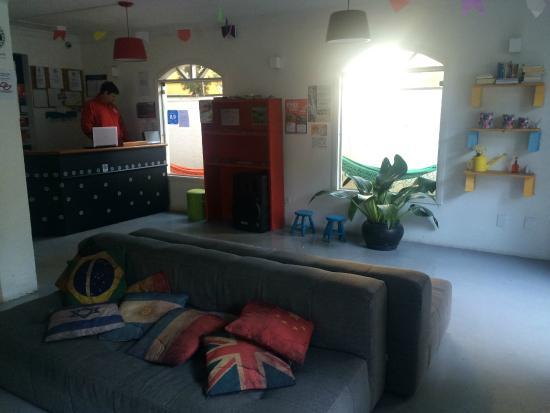 Namoa Hostel: Recepção