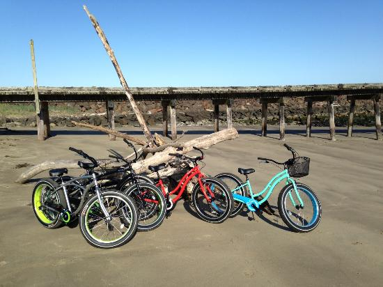Winchester Bay RV Resort: Beach bikes for rent