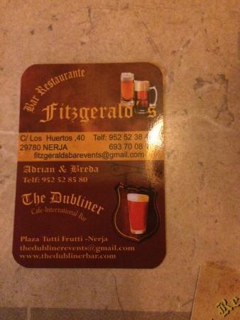 Fitzgeralds Bar & Restaurant