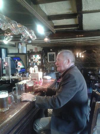 Crown Inn: John and a pint