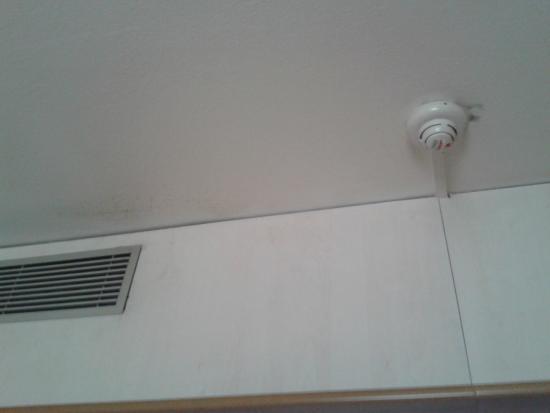 tache sur le mur et au plafond photo de mercure paris orly aeroport orly tripadvisor. Black Bedroom Furniture Sets. Home Design Ideas