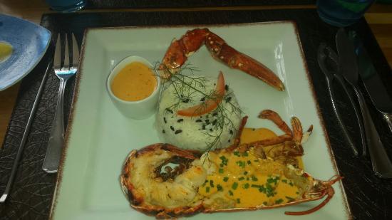 La Chaumine : Le 1/2 homard