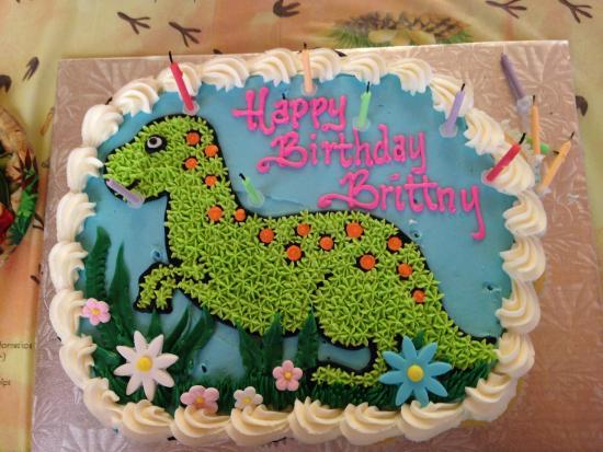 Disaster Dinosaur Cupcake Pull Apart Picture of Sugar City