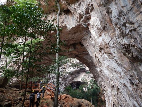 Januaria: Parque Nacional Cavernas do Peruaçu - Janelão
