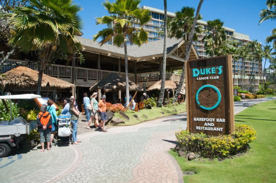 Duke S Restaurant Barefoot Bar Kauai