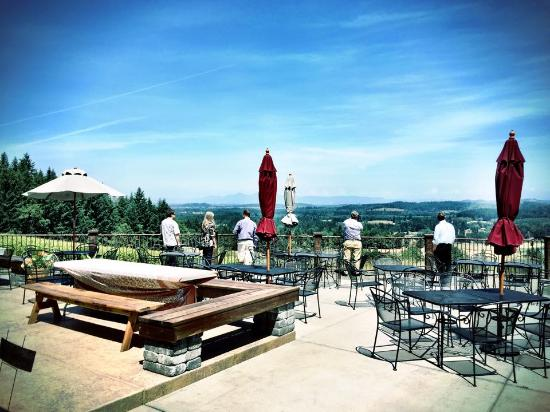 Cork and Barrel - Tours: Gorgeous View of Willamette Valley, Eugene, OR