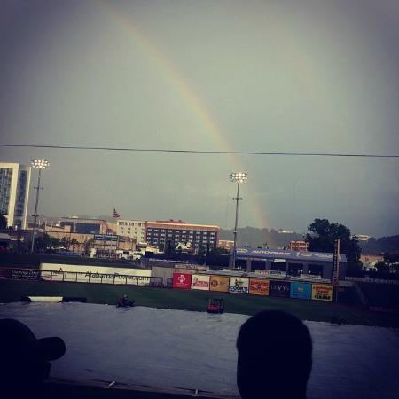 Rain Delay at Regions Field