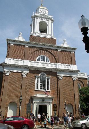 St. Stephen's Roman Catholic Church: The exterior of the church