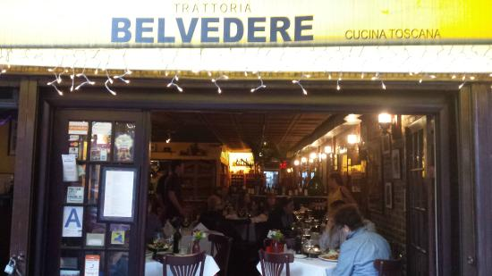 Trattoria Belvedere: Front of restaurant