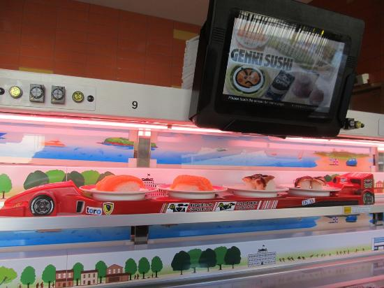 Genki Sushi: Special delivery/order