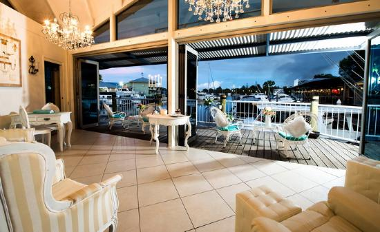 Sheer Bliss Beauty Day Spa : Relax in our waterfront Lounge