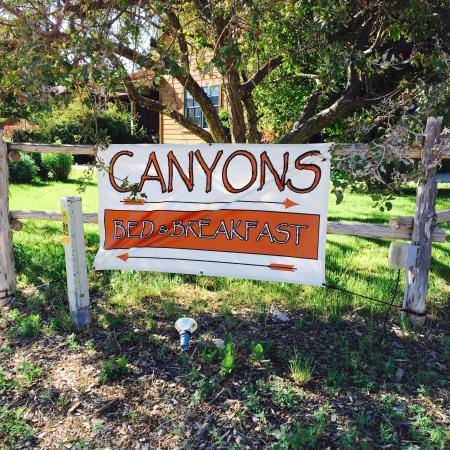 Canyons Bed and Breakfast: The site