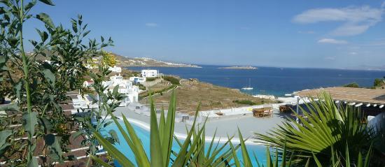 Boheme: The pool and view