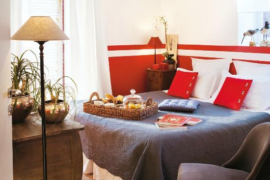Hotel de la Houle : Chambre avec accès terrasse