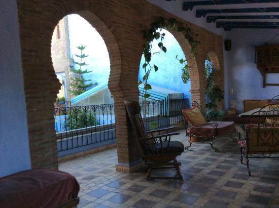 Hotel Riad Casa Hassan Restaurante: Terrace