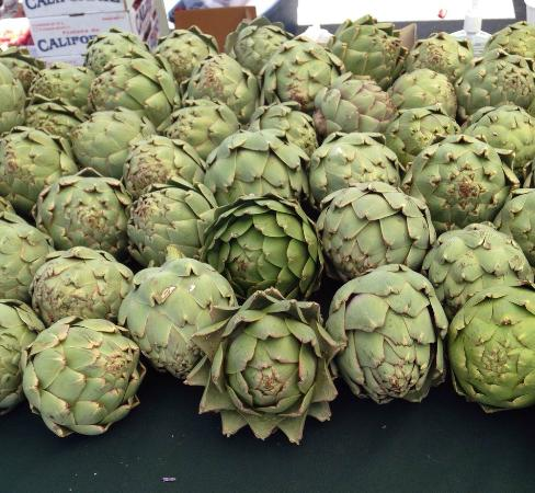 Farmer's Markets in Napa: Fresh artichokes!
